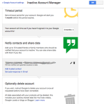 google inactive