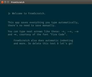 fromscratch
